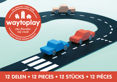 Way To Play Toys - Ringroad 12 Piece