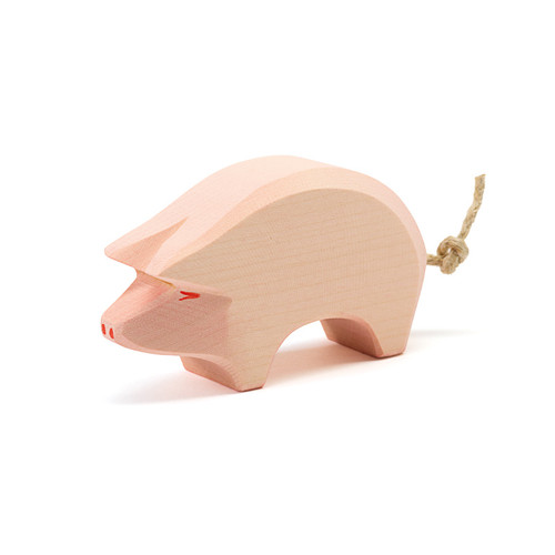 Ostheimer Wooden Pig Head Low (10903)