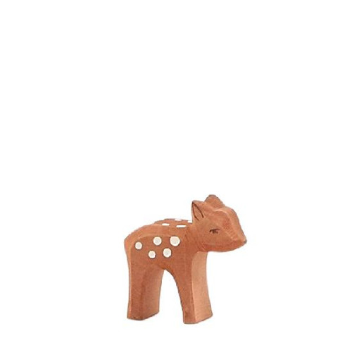 Ostheimer Wooden Deer Small Head Low
