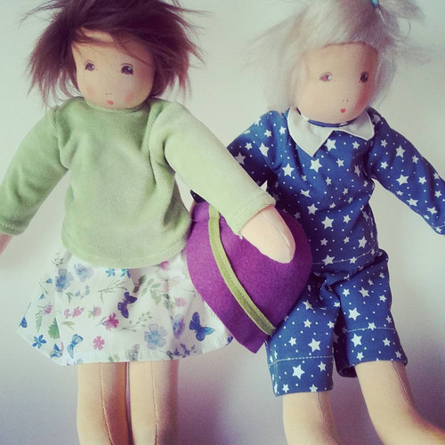 "Nanchen Outfits for 15 "" Dressable Dolls - Pajamas"