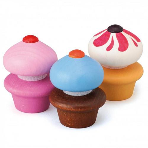 Erzi Wooden Cupcakes (e13225)