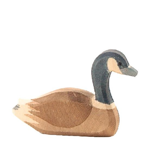 Ostheimer Wooden Canada Goose Swimming (22703)