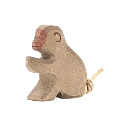Ostheimer Wooden Baboon Sitting (20792)