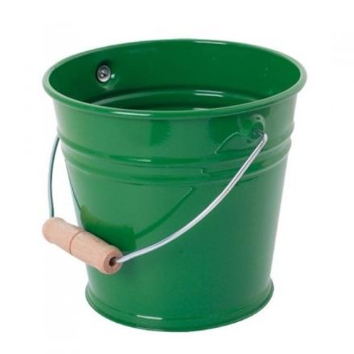 Enamel Bucket - Green