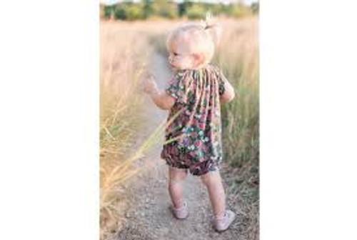 Milkbarn Organic Cotton Dress and Bloomer