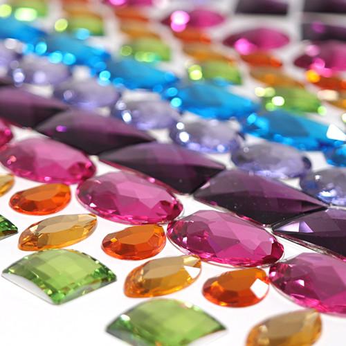 Grimm's Giant Acrylic Glitter Stones (28 pcs) (43098)