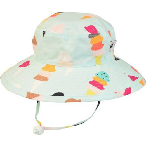 Puffin Gear Cotton Sunbaby Sun Hat - Ice Cream-Mint