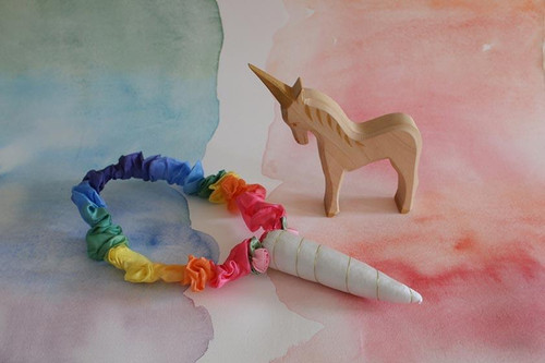 Sarah's Silks Unicorn Rainbow Horn (3902s)