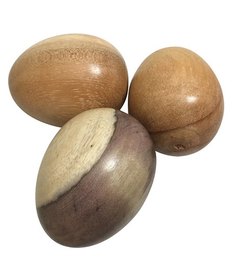 Papoose Wooden Eggs