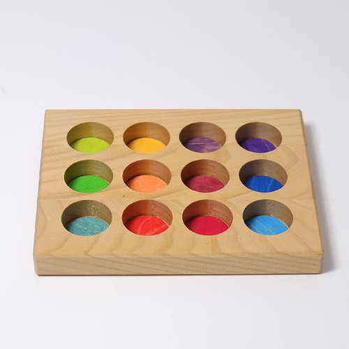 Grimm's Sorting Board Rainbow (10576)