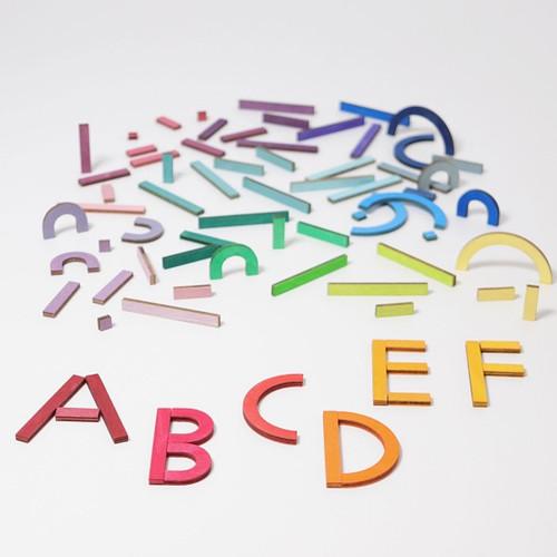 Grimm's Alphabetic Letter Shapes