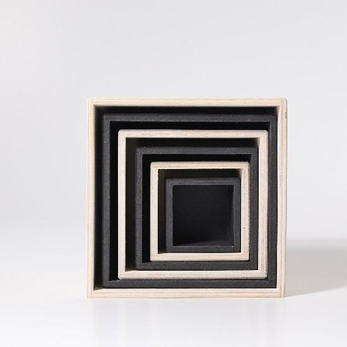 Grimm's Set of Large Boxes - Monochrome (93040)