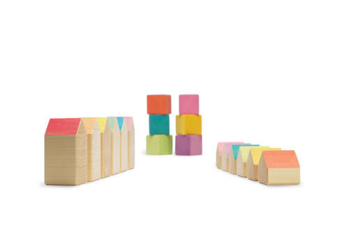 Ocamora Little Houses and Cubes