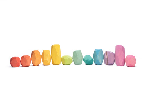 Ocamora Stones Coloured (12 pc) (Q01201)