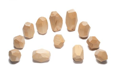 Ocamora Stones Natural (12 pc) (Q01200)
