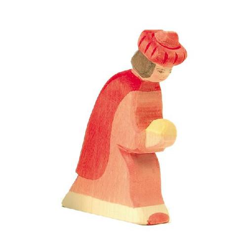 Ostheimer Nativity Figure - King Red Oriental (41701)