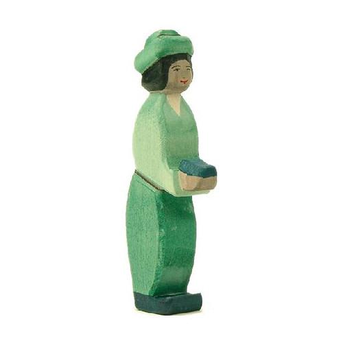 Ostheimer Nativity Figure - King Green Oriental (41703)
