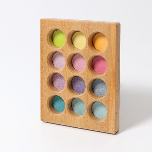 Grimm's Sorting Board Pastel (10577)