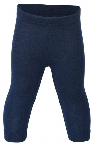 Engel Baby Leggings Organic Merino Wool/Silk - Navy (up to 3T)