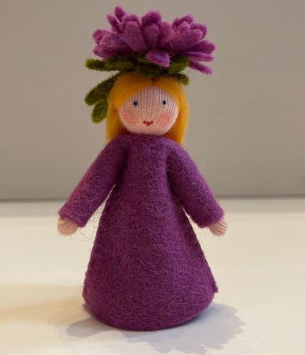 Purple Mums - Flower Children