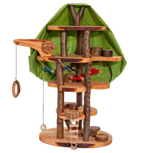 Magic Wood Tree House with Cloth