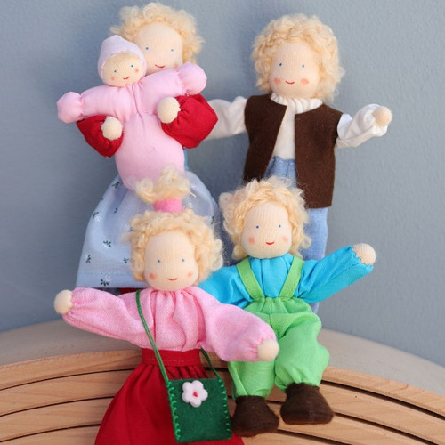 Grimm's Dollhouse Doll - Boy with Blond Hair