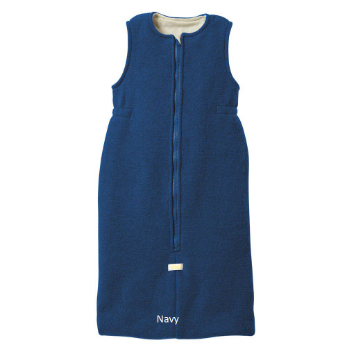 Disana Organic Boiled Wool Sleeping Bag Navy