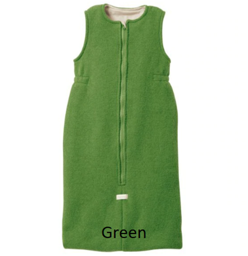 Disana Organic Boiled Wool Sleeping Bag Green