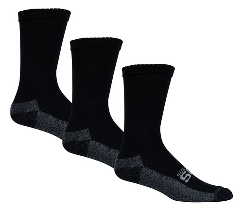 Active Fit Cushioned Diabetic Socks 3 Pack Crew