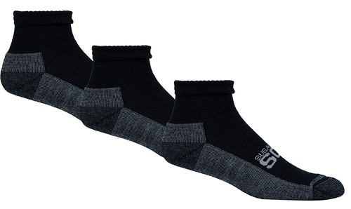 Active Fit Cushioned Diabetic Socks 3 Pack Ankle