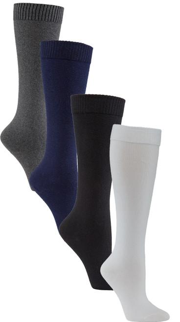 Womens Health & Comfort Knee High Diabetic Socks 3 Pack