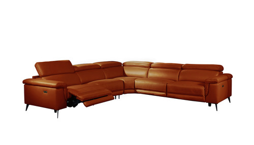 Hendrix Sectional Orange