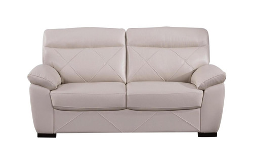 S173 Bone Loveseat