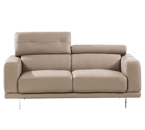 S116 Taupe Loveseat