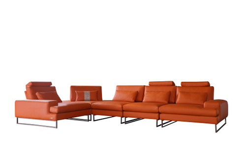 Meta Orange Sectional