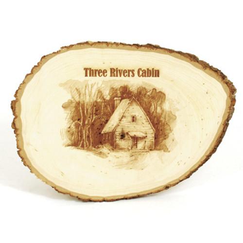 Natural Wood Plaque