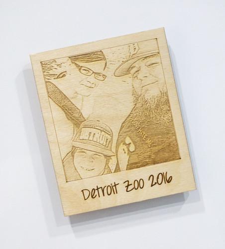 Personalized Polaroid Magnet