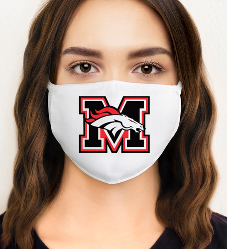 School Spirit Face Mask