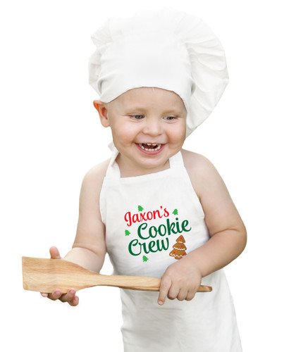 Personalized Child's Cookie Crew Apron