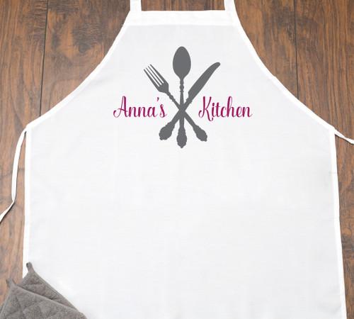 Personalized Kitchen Utensils  Apron