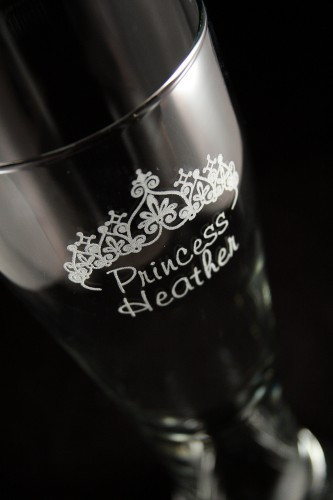 Custom Pilsner Glass Bar Set