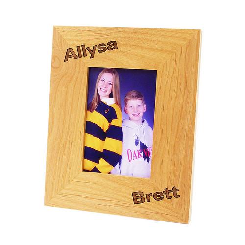 Personalized Wood Photo Frame