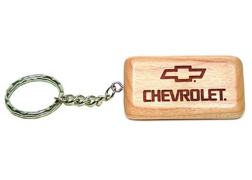 Personalized Wood Key Chain