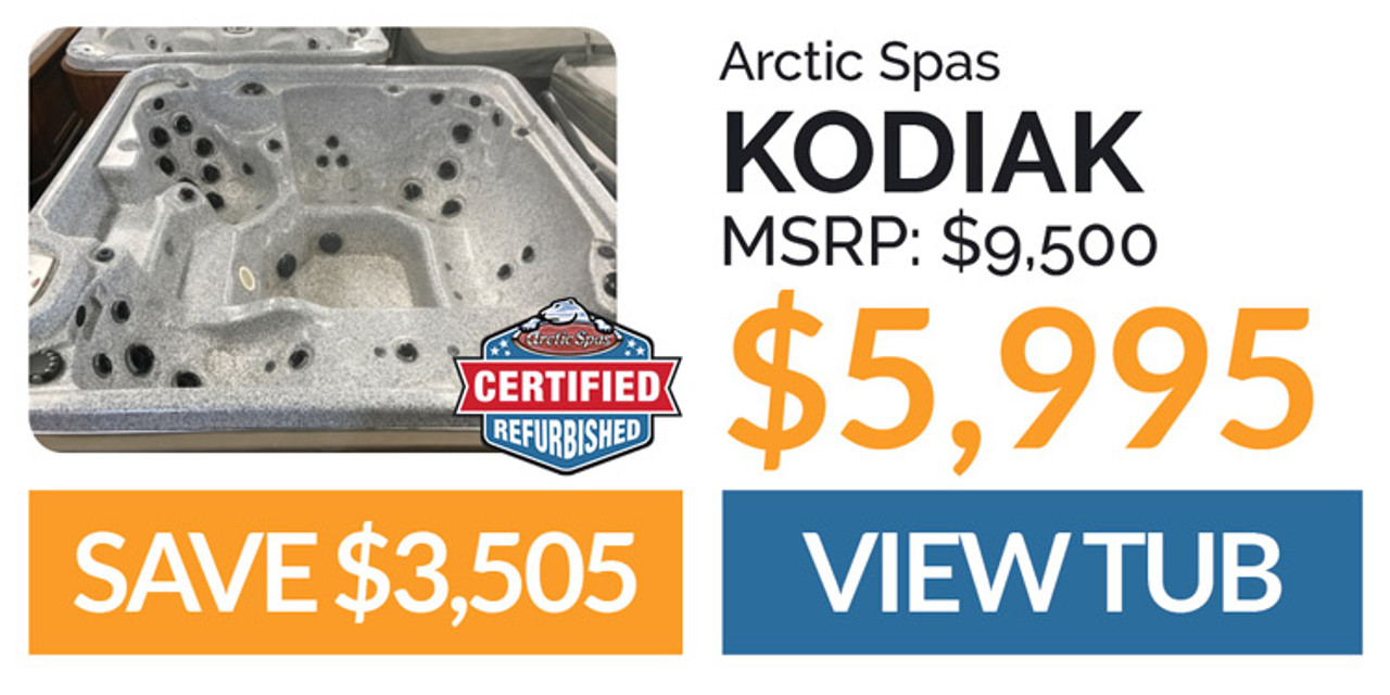 Arctic Spas Kodiak $5995