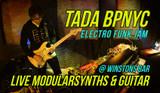 New Live Video!!! TADA/BPNYC live Modularsynths & Guitar @Winstons Bar