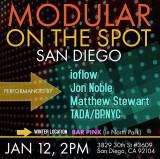 Modular On The Spot  San Diego / January 2020 edition!!!