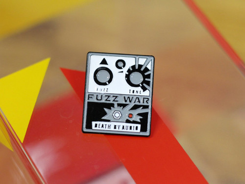 Death By Audio FUZZ WAR ENAMEL PIN