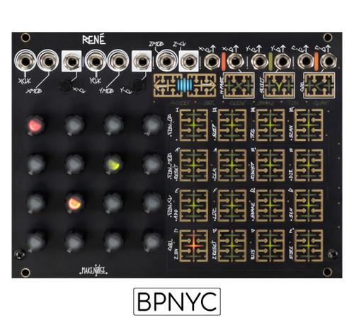 Make Noise  René V2 3D cartesian music sequencer