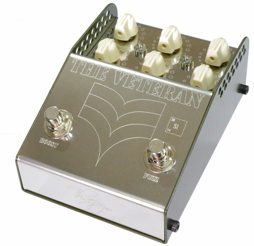 ThorpyFX   The VETERAN (Si) V2 Vintage Fuzz and Boost