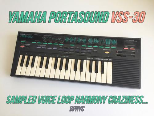 Yamaha VSS-30 PortaSound Voice Sampling (SOLD)